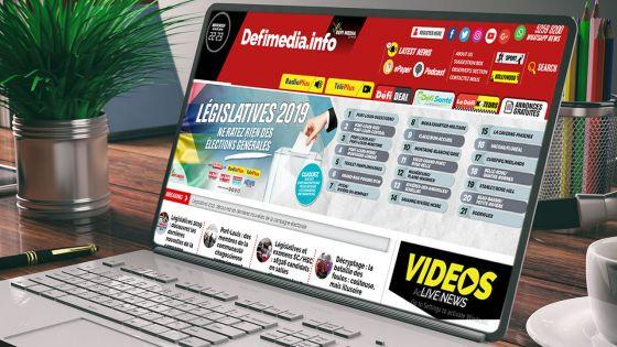 Médias électroniques :1, 7 million de «pageviews» consultées sur defimedia.info le jour des résultats des élections