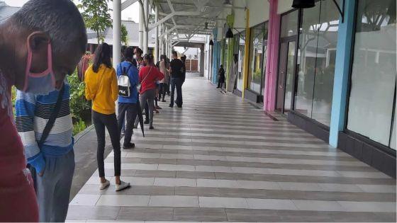 Cas positifs au Winner's de Rose-Belle : dépistage de masse au Plaisance Mall de Rose-Belle