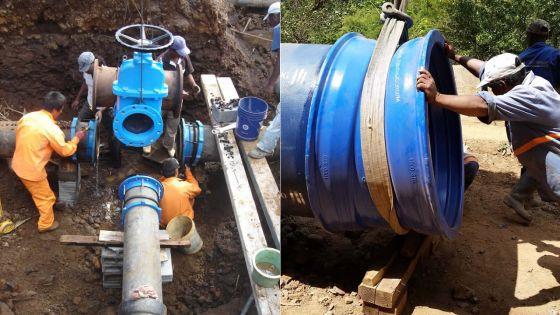 Conduits d'eau : 1771km de vieux tuyauxseront remplacés