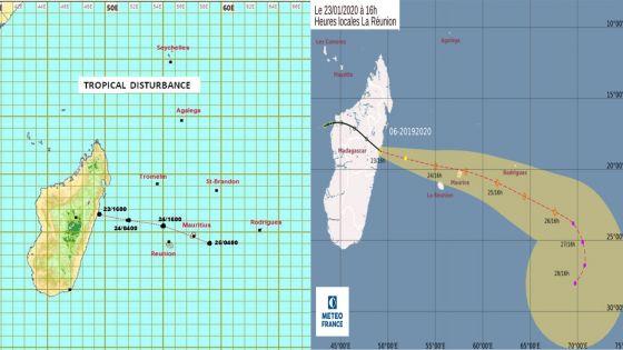 Maurice en alerte cyclonique 1 : les scénarios possibles
