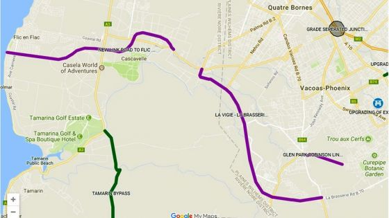 Travaux Metro Express : la voie de droite de l'avenue Swami Sivananda fermée dès lundi