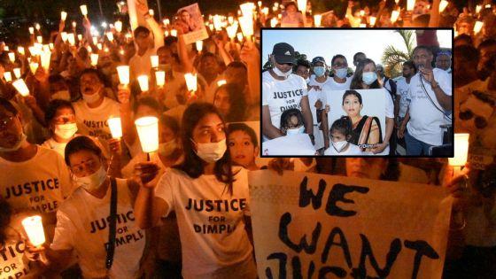 «Enough is enough», dit Boojhawon lors de la Candlelight et la marche pacifique en mémoire de Dimple Raghoo