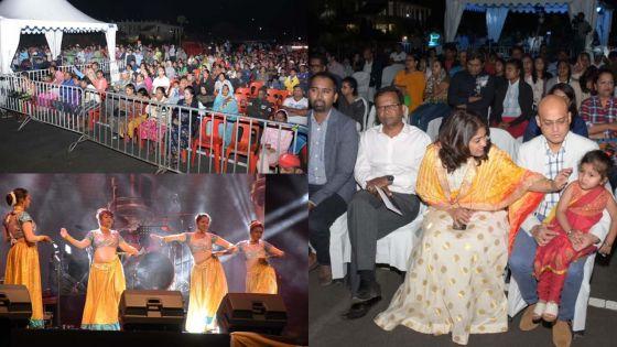 Triolet : Callichurn, Ramkaun et Lutchoo présents à la Divali Night