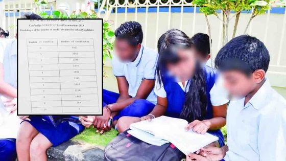 Cinq credits au SC : 13 141 sur 18 659 élèves ne pourront accéder au Lower Six