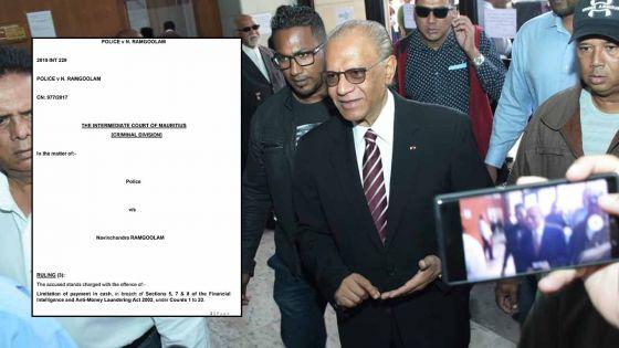 [DOCUMENT] A lire l'intégralité du «ruling» de la Cour intermédiaire dans l'affaire des coffres-forts de Navin Ramgoolam