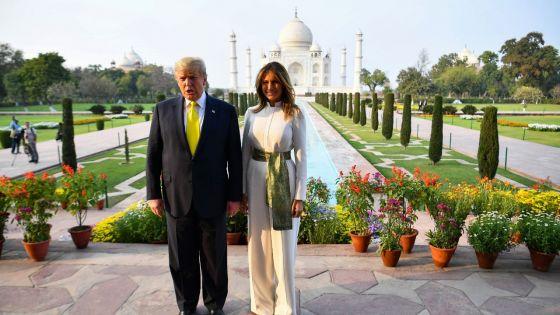 [En images] «Namaste Trump» : show bouillant pour le président américain en Inde