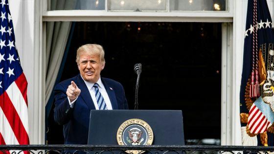Trump n'est plus contagieux, déclare son médecin