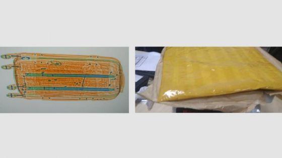 Aéroport : un passager étranger arrêté avec 1,5 kg d'héroïne d'une valeur marchande de Rs 23 millions