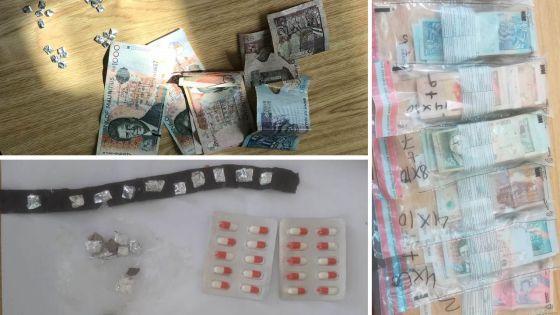 Drogues : deux arrestations et environ Rs 110 000 saisies à Cité Argy, Flacq