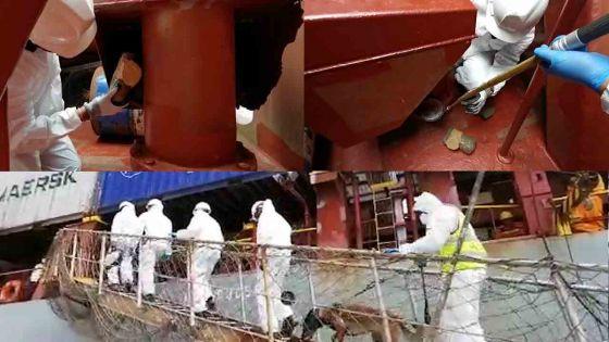 Au Port : saisie de Rs 30 millions d'héroïne sur un navire indonésien