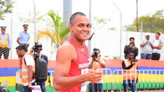 JIOI - Athlétisme : le sprinteur mauricien, Jonathan Bardotier, l'emporte sur 100 m
