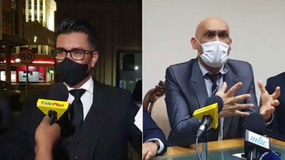Vifs échanges de propos entre Shakeel Mohamed et les ministres Hurreeram et Jagutpal lors des incidents dans la lunchroom du Parlement