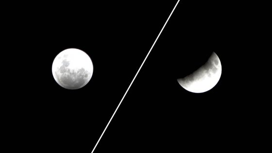 Noctambules : gardez ce soir les yeux grands ouverts pour observer l'éclipse partielle de lune