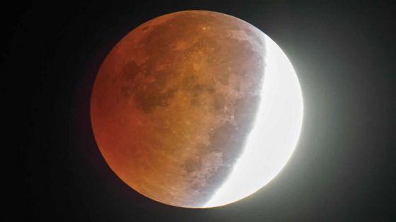 Une éclipse partielle de la lune ce dimanche