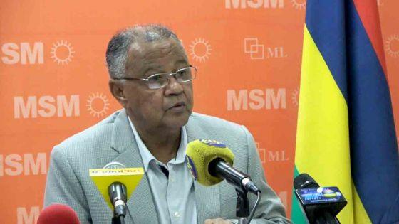 Majorité Gouvernementale - Eddy Boissezon : «Personne n'est au-dessus de la loi»