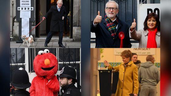 [Images] Elections britanniques décisives pour le Brexit