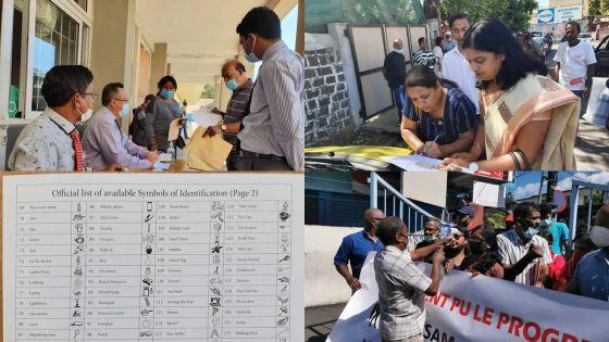 [En images] Élections villageoises : les choses sérieuses démarrent