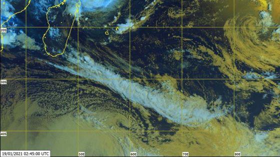 Météo : Eloïse s'est intensifiée en une forte tempête tropicale dans la nuit