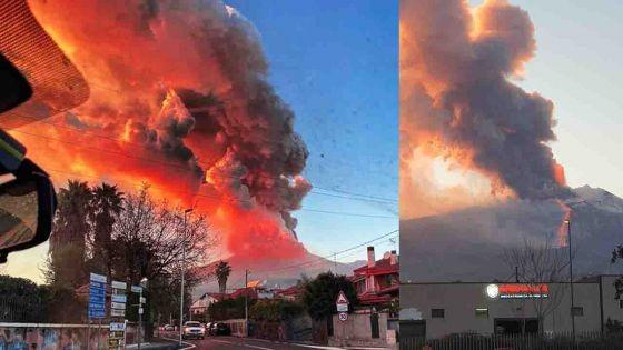 Italie : Kevin, un Mauricien, parle de l'éruption spectaculaire du volcan Etna