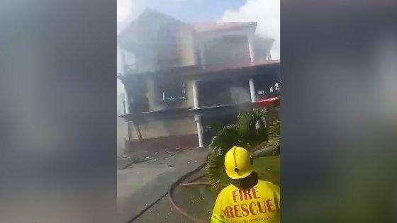 Incendie dans un restaurant : «J'ai entendu un bruit d'explosion», dit un témoin