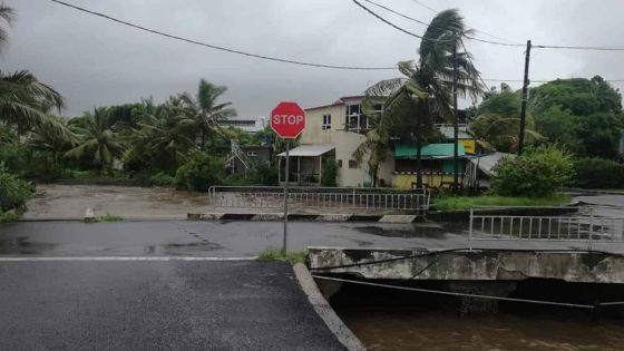 Rodrigues cyclone Joaninha :  des rafales de 144 km/h enregistrées à Montagne-du-Sable