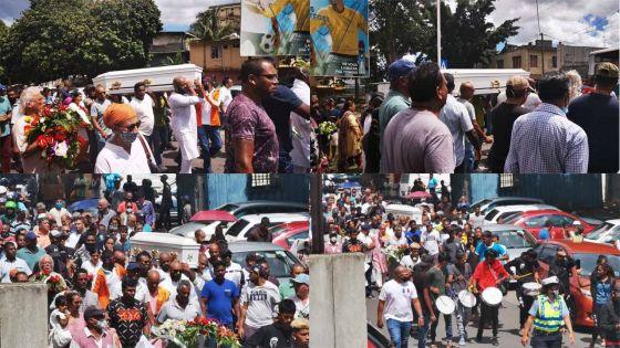 [En images] Funérailles de Manan Fakoo