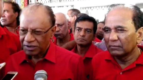 Nomination Day en marge de la partielle au no 7 : déclaration de Navin Ramgoolam et celle d'Anil Bachoo