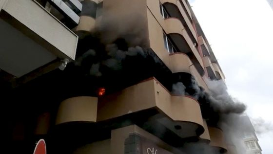 Port-Louis : incendie à Fon Sing Building, bâtiment abritant la National Library
