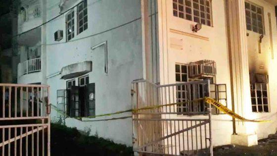 Incendie à Port – Louis – 2 personnes secourues