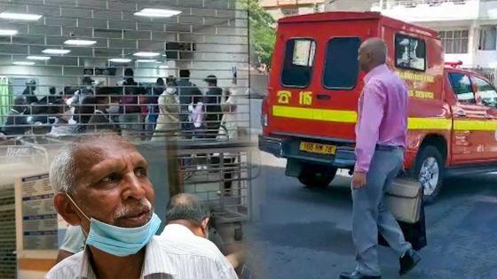 Hôpital Jeetoo : un infirmier brûlé aux poignets alors qu'il manipulait un cylindre d'oxygène
