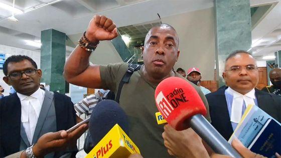 Bruneau Laurette après sa libération sous caution : «Mo pann pass par linposs pou vinn enn fighter…»