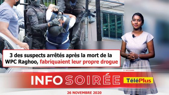 INFO SOIREE : Un laboratoire de drogue synthétique, en plein centre de Port-Louis…