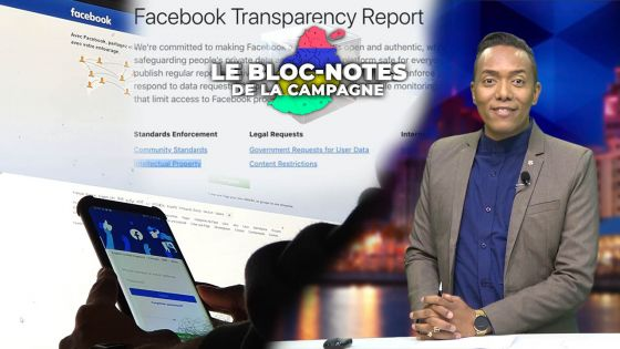 Bloc-notes de la campagne - Politique 2.0 : Maurice se trouve sur une «Facebook censorship list»