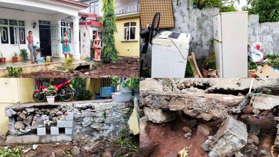 [En images] Fond-du-Sac : dévastatrice montée des eaux