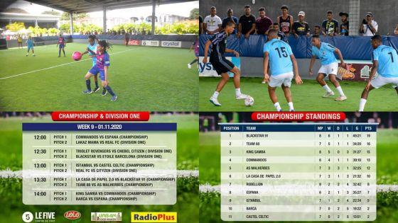 [En images] Footfive - Moris F5 League 2020
