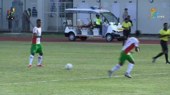 JIOI 2019 - Football : suivez en direct la rencontre Madagascar V  Seychelles