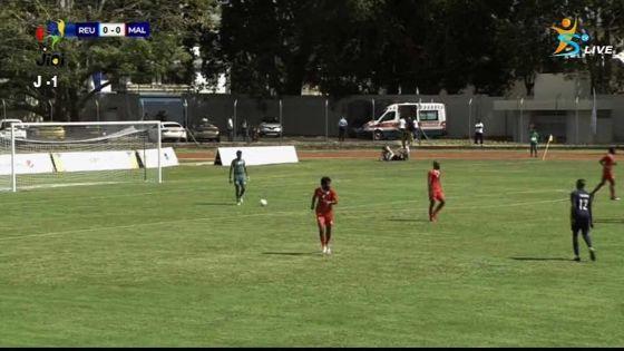 JIOI : coup d'envoi des compétitions avec le match Réunion/Maldives en football