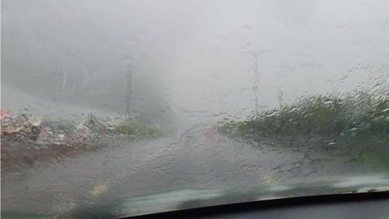Avis de fortes pluies : fermeture de la route à Forbach