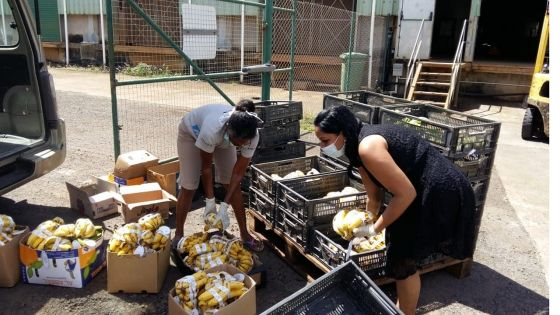 Confinement : le Groupe Médine offre une tonne de fruits et de légumes aux familles nécessiteuses