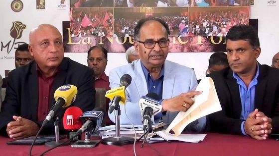 Déportation de Shameem Korimbocus : Alan Ganoo demande au Premier ministre d'éclairer la population