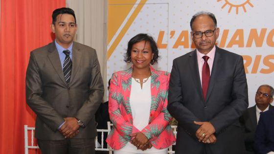 Résultats partiels no 14 : l'Alliance Morisien devant avec ses trois candidats