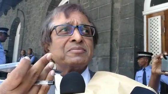 Anil Gayan : «Akoz sa appel enn lotel gouvernman. Se enn lotel. Ou rentre, ou sorti»