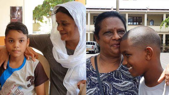 PSAC 2019 : ces grand-mères courage aux côtés de leurs petits-fils.
