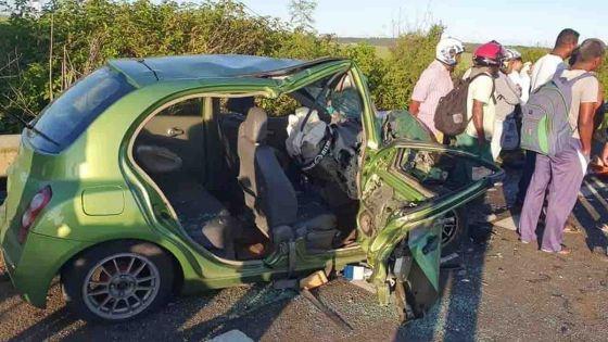 Goodlands : un mort dans un carambolage impliquant trois voitures