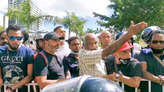 Restrictions routières : grosse colère du syndicaliste Narendranath Gopee