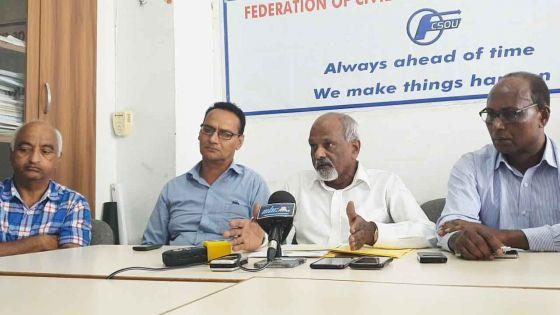 PRB : la FCSOU veut que les fonctionnaires travaillent six heures par jour