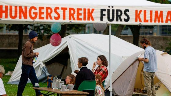 Allemagne: des jeunes en grève de la faim face à la catastrophe climatique