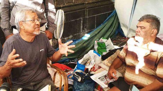 Clency Harmon suspend sa grève de la faim : «La balle est dans le camp du gouvernement»