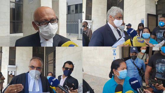 Cour de Port-Louis : la Private Prosecution contre Yogida Sawmynaden rayée, les avocats de la famille Kistnen annoncent un second procès privé contre l'ex-ministre