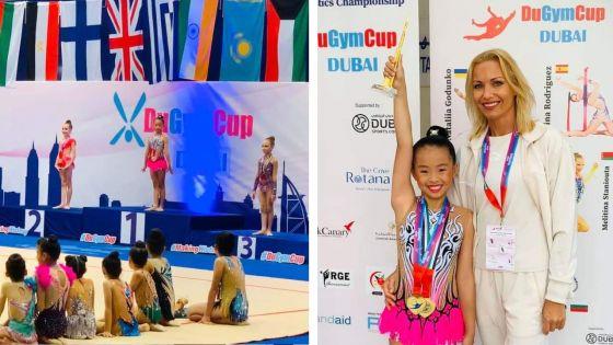La Mauricienne Meghan Aling décroche deux médailles d'or au DuGym 2019